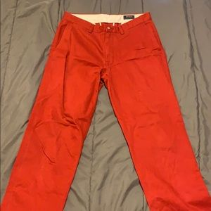Polo Ralph Lauren Classic Fit Red Pants
